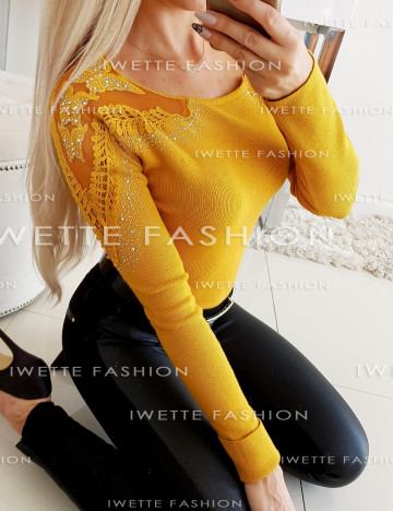 Sweter Georgia Yellow