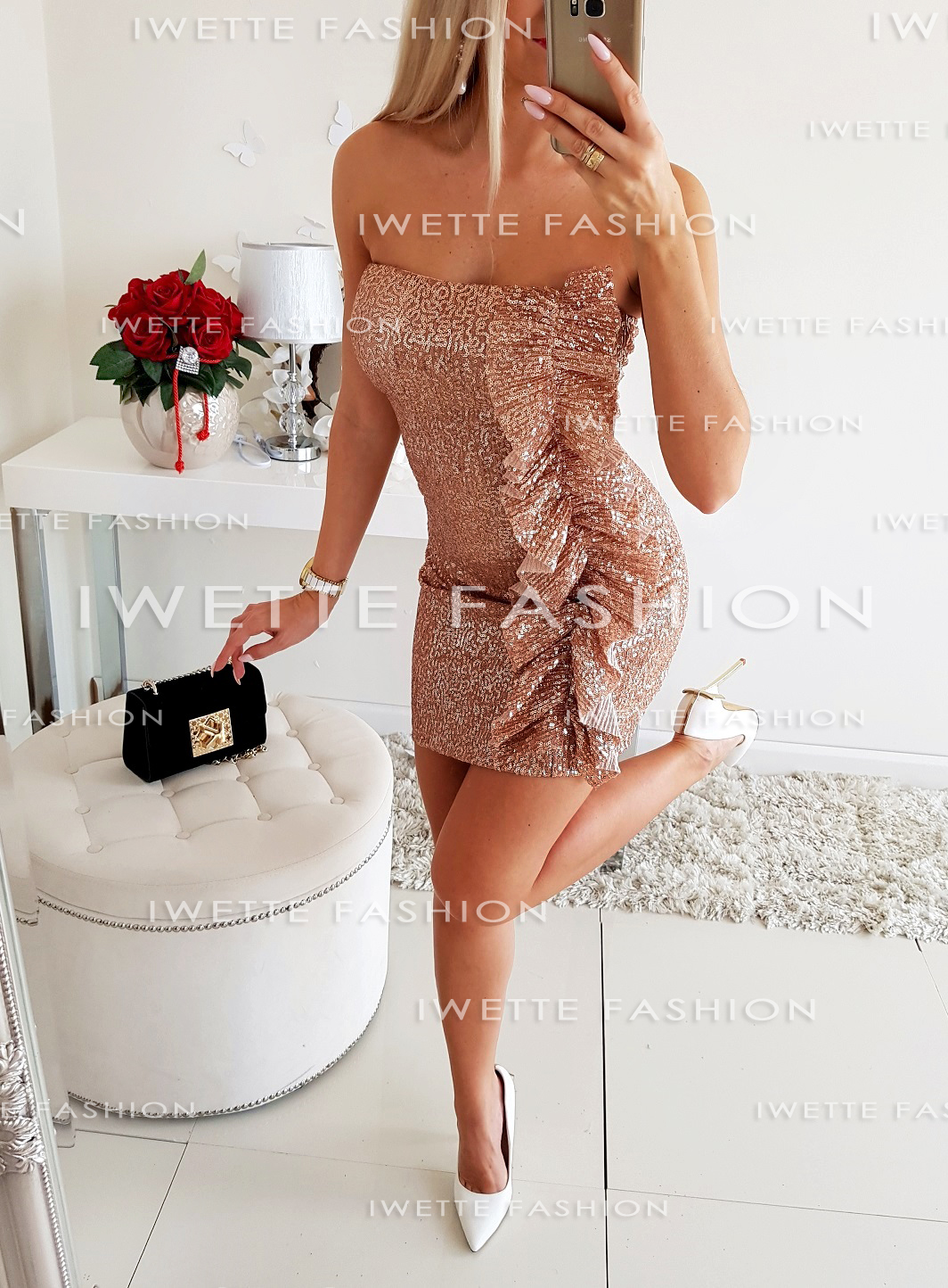 Платье Felicia Gold