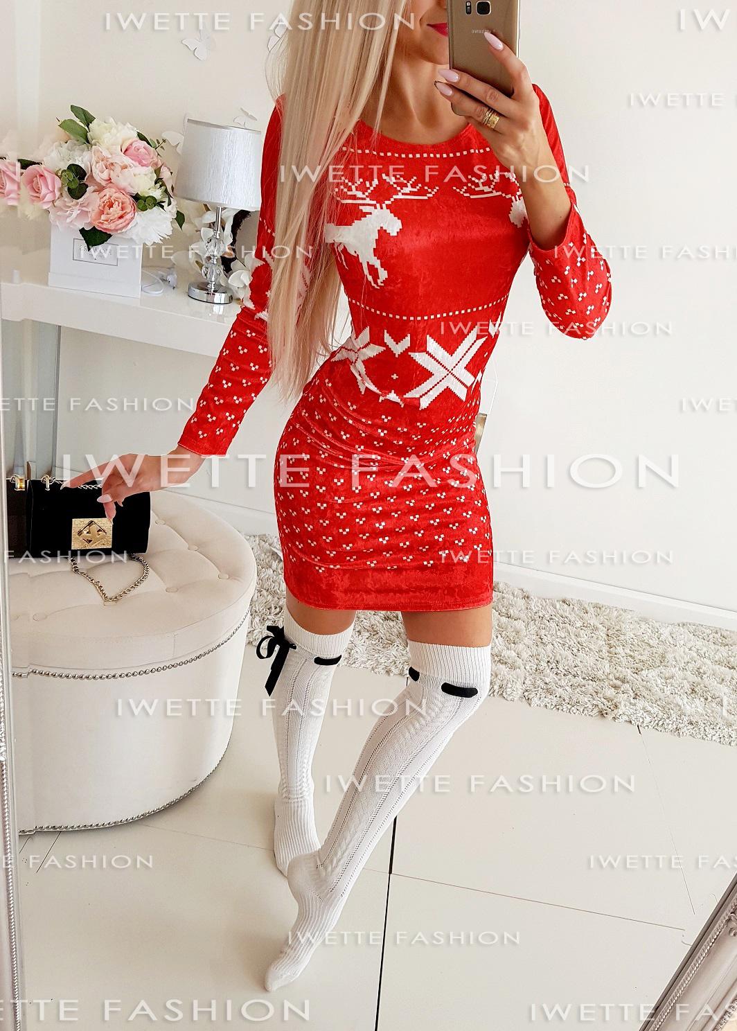 Платье Renifer RED