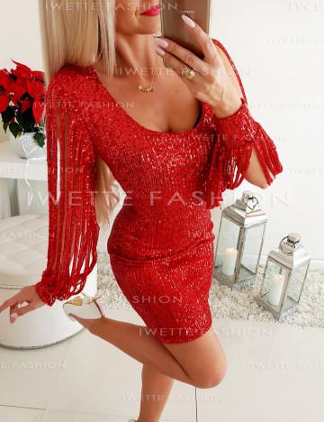 Sukienka Cekiny Red