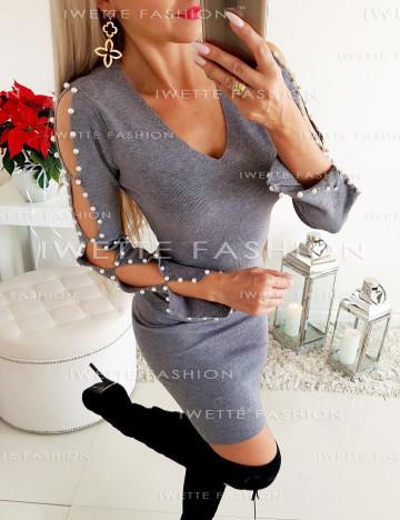 Sukienka Pearls Gray [317]