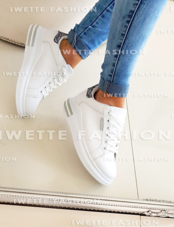 Sneakersy Damskie Silver