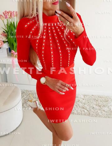 Sukienka Ivone RED (Kopia)