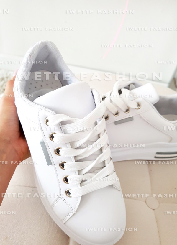 Sneakersy Silver Holo