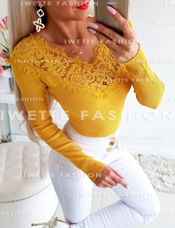 Sweter Luna Miodowy
