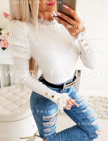Sweterek Pauline Ecru