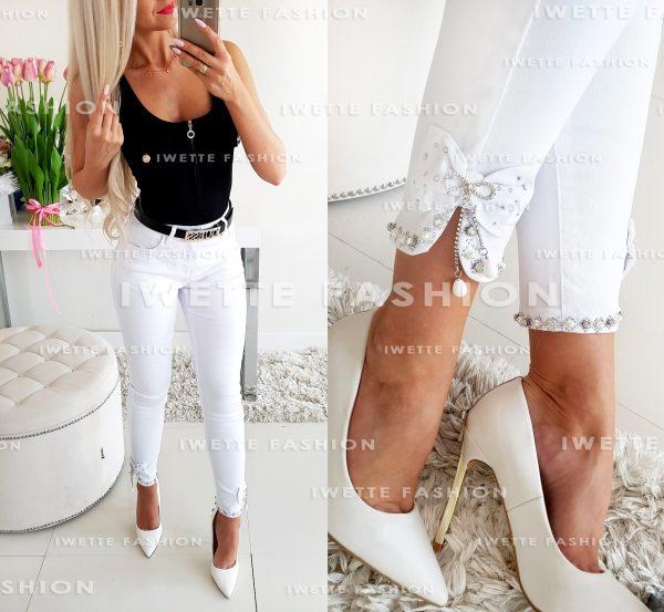 Spodnie Brillante White [02]