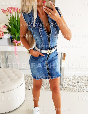 Sukienka Adrianna Jeans [053]