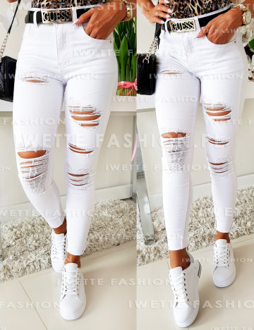 Jeansy White Style [139]