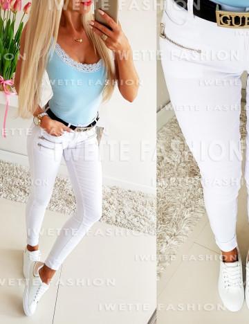 Spodnie White ZIP (Kopia)