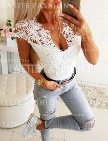 Bluzka Ażur White