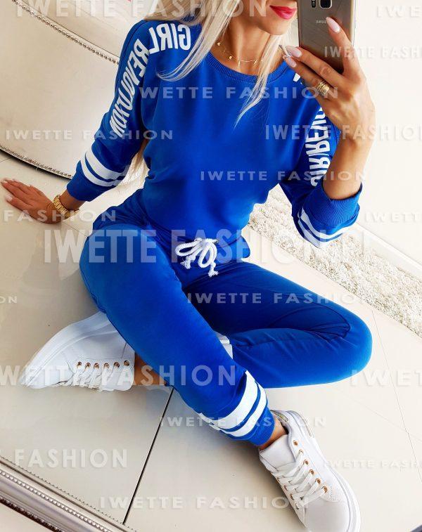Komplet Dresowy Girl Blue