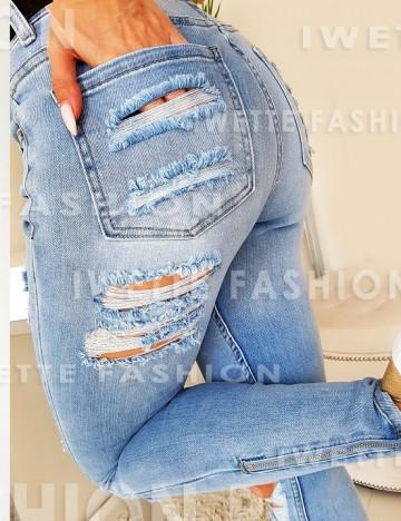 Spodnie Venus Zip Jeans [92]