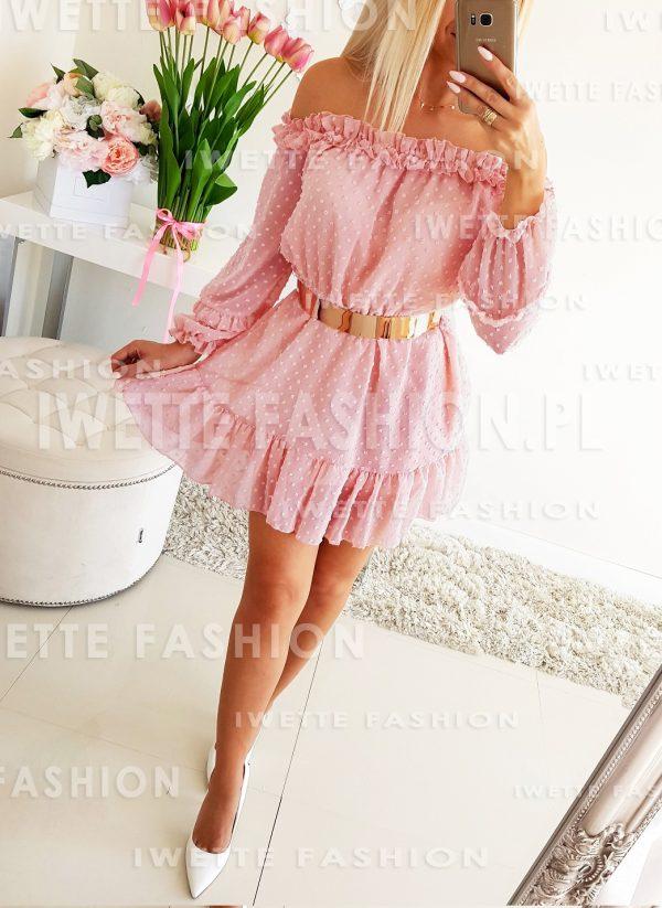 Sukienka Pearl Puder