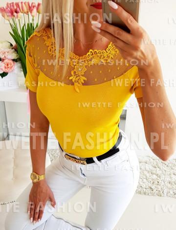 Bluzka Anastasia Yellow