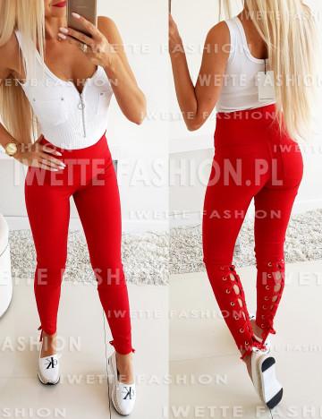 Spodnie Wiązane RED