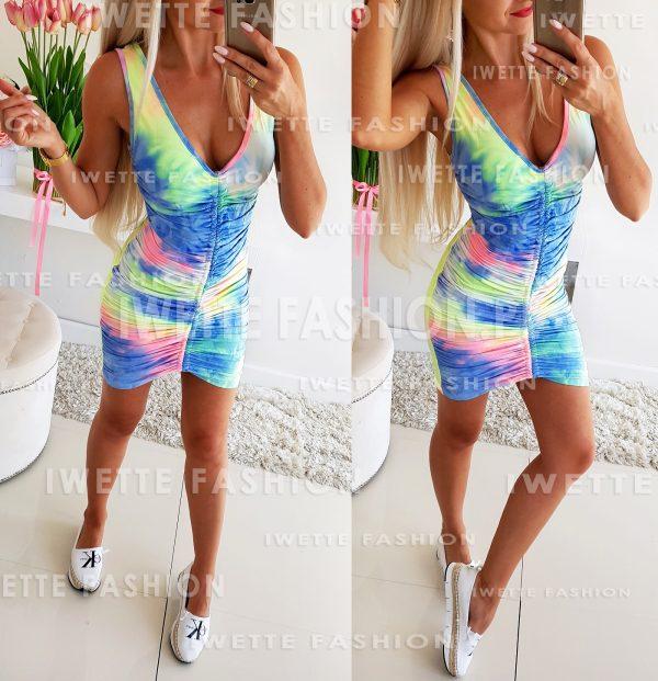 Sukienka Denis Multicolor