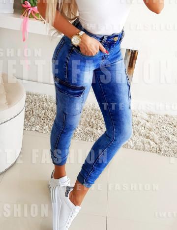Bojówki Jeans Paris