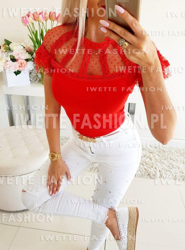 Bluzka Beatris RED