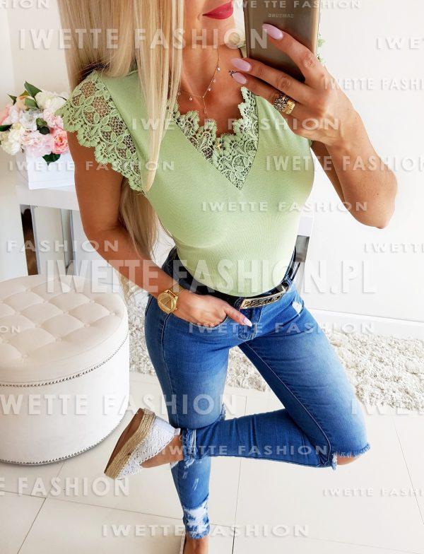 Bluzka Naomi Lime