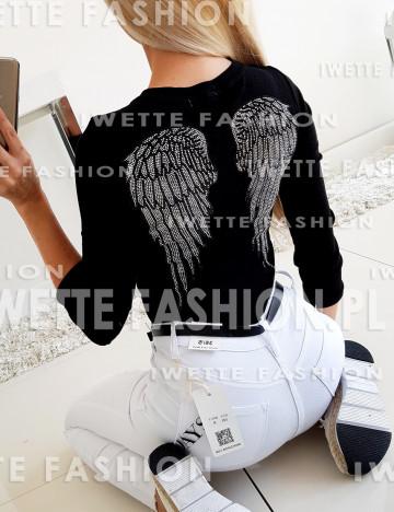 Bluzka Wings Black