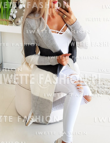 Sweter Olivia Dark Gray