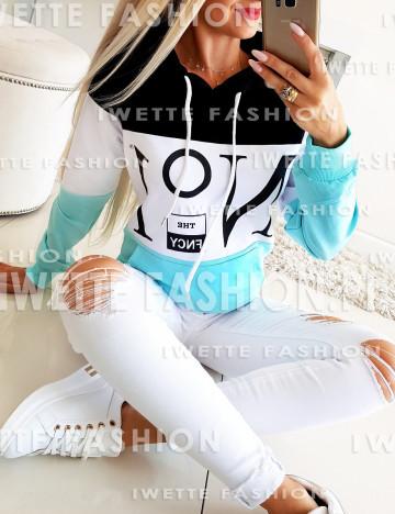 Bluza NO1 Mięta (K)
