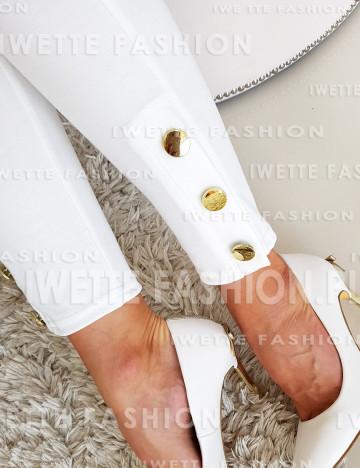 Spodnie Białe Mia