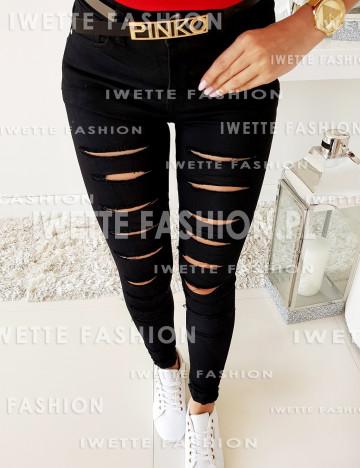 Spodnie Jeans Black NEW