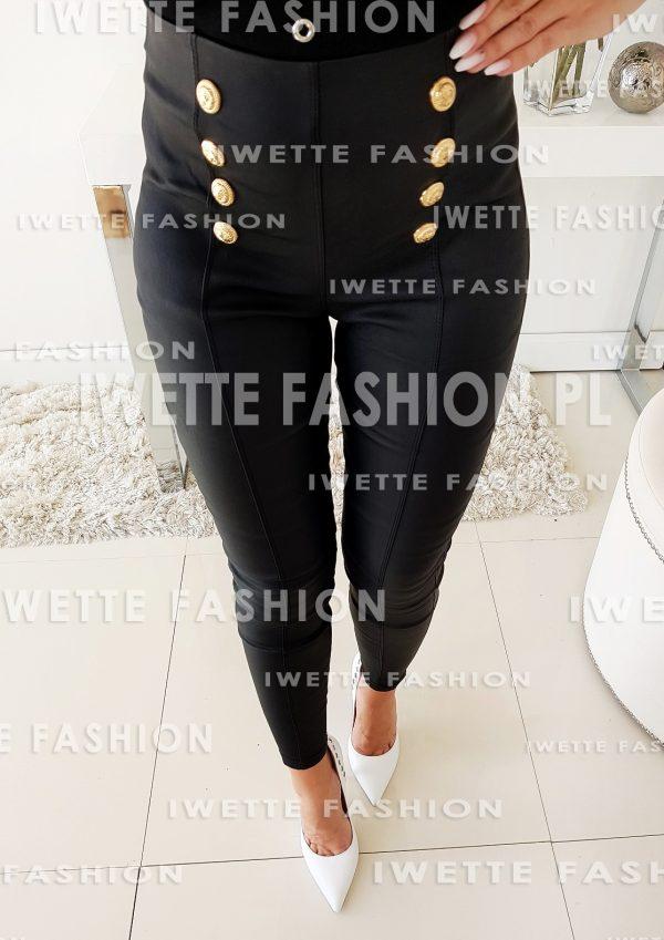 Spodnie Woskowane Paris