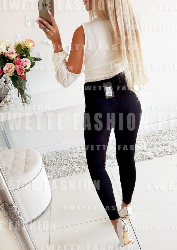 Spodnie Wiązane Black