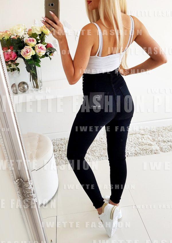Spodnie Jeans Paris