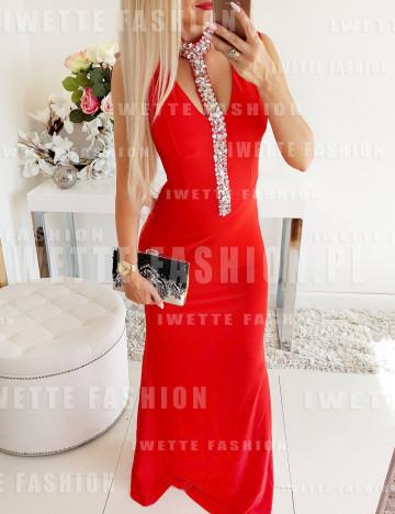 Sukienka Diana Maxi Red