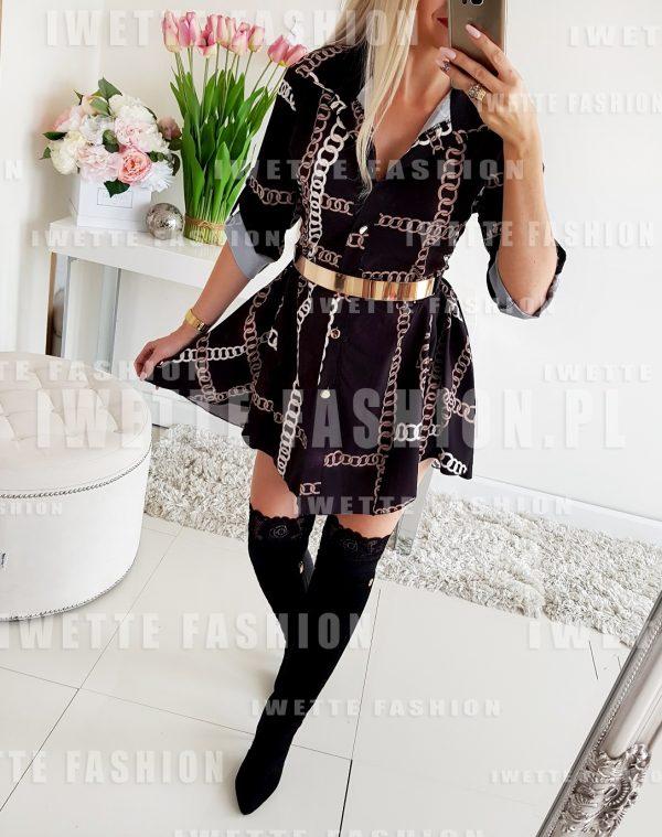 Sukienka Ivone Gold