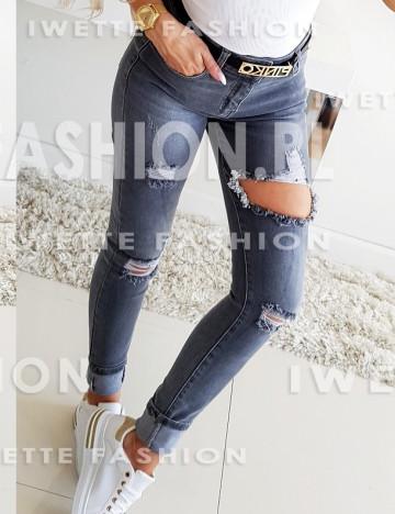 Spodnie Ashanti Gray