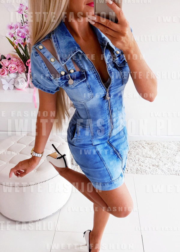 Sukienka Jeans New Style
