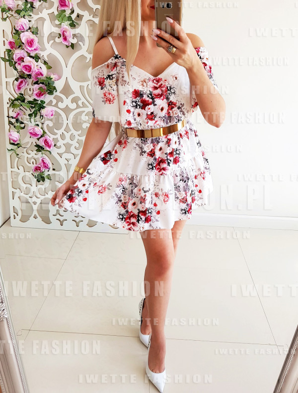 Sukienka Cassy White