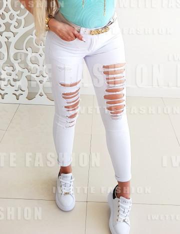 Spodnie Sally White