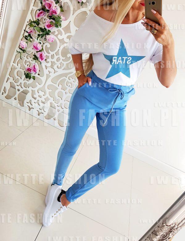 Komplet Dresowy STAR Blue