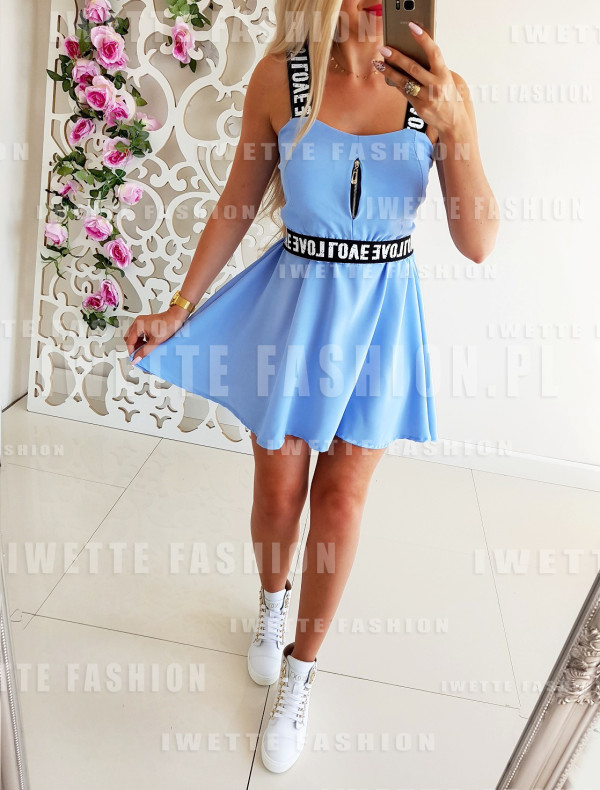 Sukienka LOVE Blue