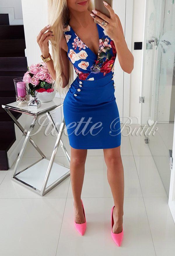 Sukienka Flowers BLUE