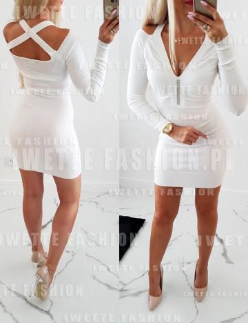 Sukienka Olimpia Ecru