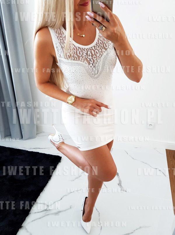 Sukienka Luna Ecru
