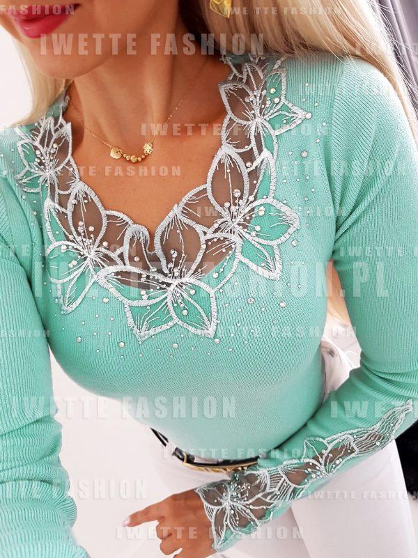 Sweter Tamara Light Mint