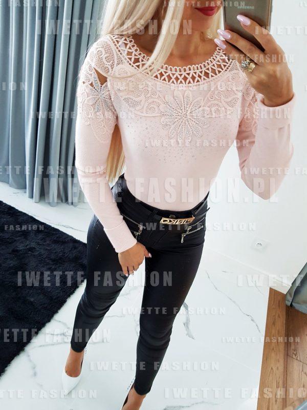 Sweter Melania Puder