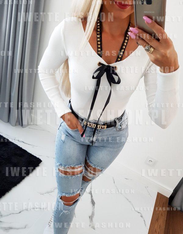 Sweter Amanda White