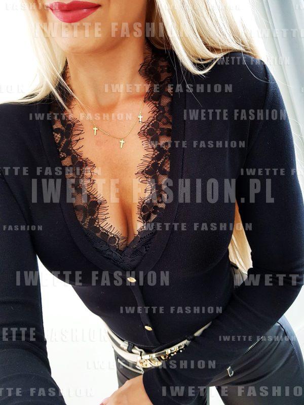 Bluzka Leila Black