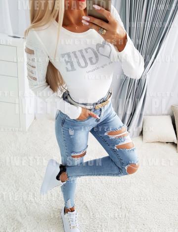 Bluzka Vogue White